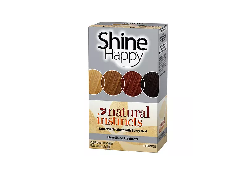 Clairol Natural Instincts Shine Happy Shine Treatment, Developing Lotion & Conditioning Treatment, Procter & Gamble