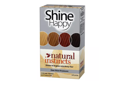 Clairol Natural Instincts Shine Happy Shine Treatment, Developing Lotion & Conditioning Treatment, Procter & Gamble - Image 1