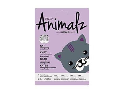 MasqueBAR Pretty Animalz Sheet Mask, Cat, 0.71 fl oz