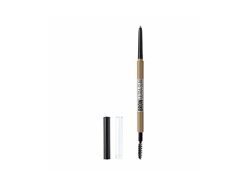 Maybelline New York Brow Ultra Slim Pencil, Blonde, 0.003 oz