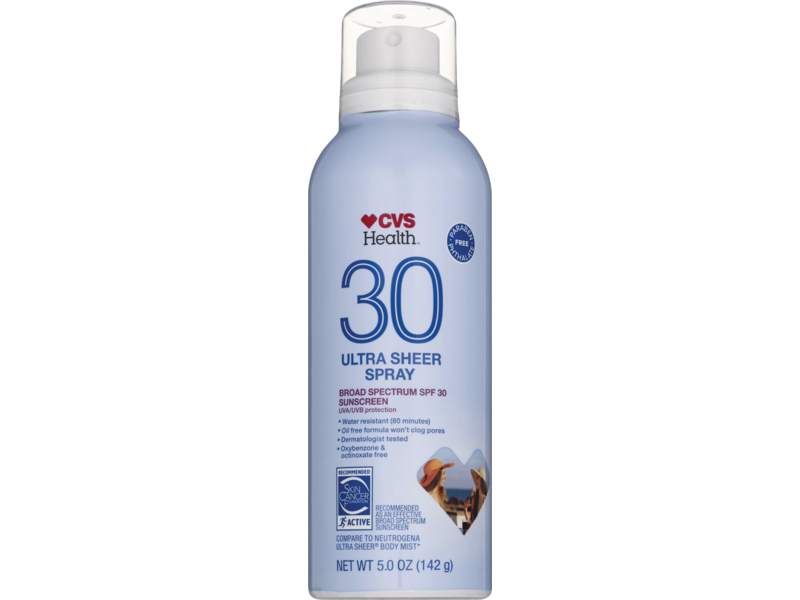 CVS Health Sheer Mist Sunscreen SPF 30