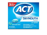 ACT Dry Mouth Lozenges Soothing Mint 36 Count - Image 2