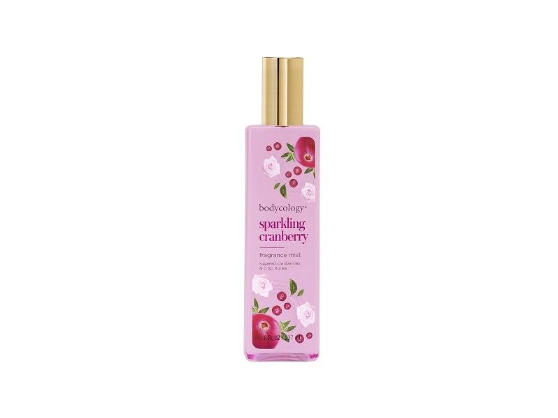 Bodycology Sparkling Cranberry Fragrance Mist, 8 fl oz