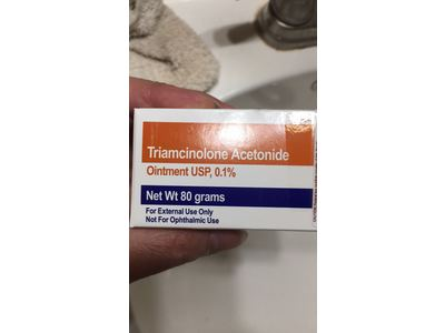 Triamcinolone Acetonide Ointment USP 0.1% (RX), 80 Grams, Teligent