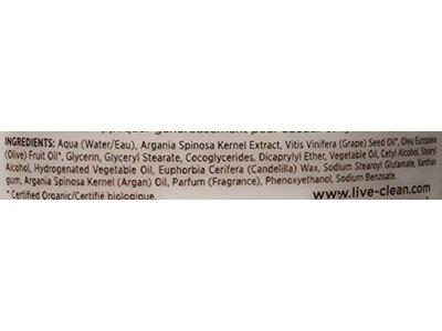 Live Clean Argan Oil Replenishing Body Lotion, 17 Fluid Ounce - Image 3