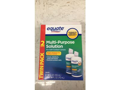 Equate Multi-Purpose Solution, Twin Pack 2-12 oz - Image 3