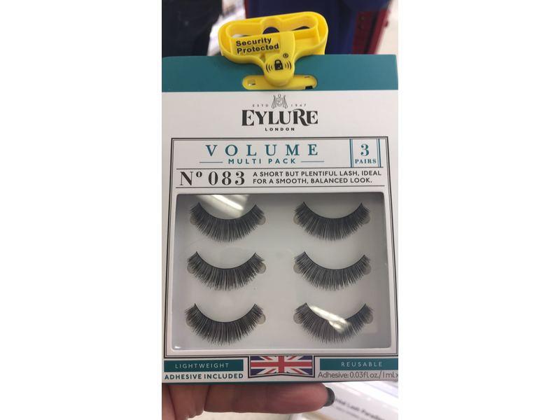 Eylure London Volume Multipack Eyelashes, No 083, 3 pair