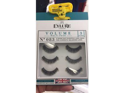 Eylure London Volume Multipack Eyelashes, No 083, 3 pair - Image 1