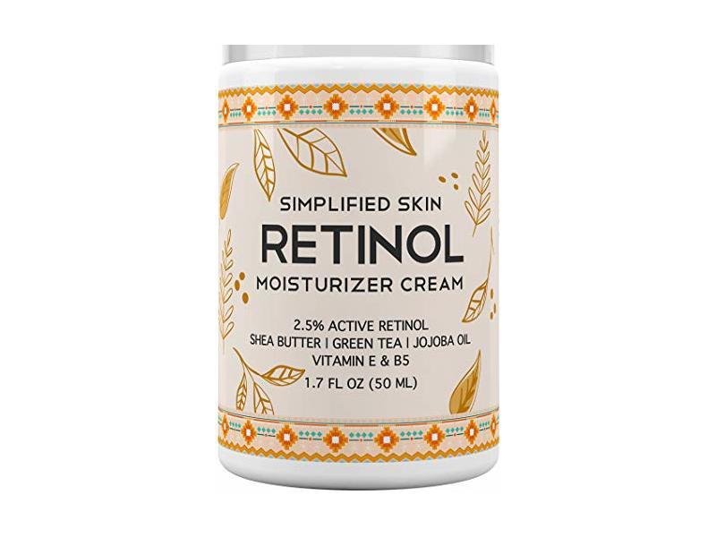 Simplified Skin Retinol Moisturizer Cream, 1.7 fl oz
