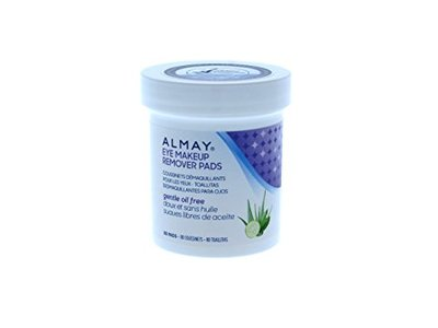 Almay Oil-Free Gentle Eye Makeup Remover Pads, 80 Count