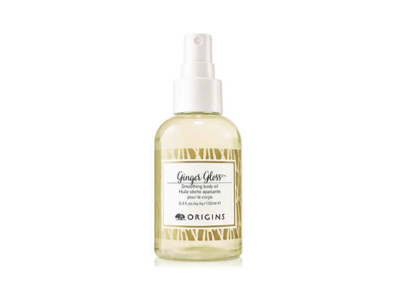 Origins Ginger Gloss Smoothing Body Oil, 3.4 oz