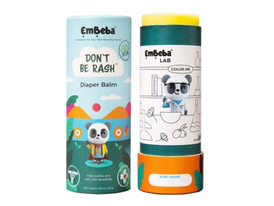 Embeba Don't Be Rash Baby Diaper Balm, 1.69 oz/48 g