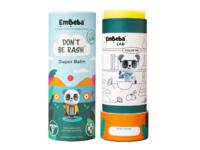 Embeba Don't Be Rash Baby Diaper Balm, 1.69 oz/48 g - Image 2