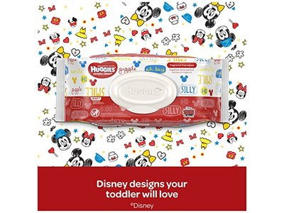 Huggies Simply Clean Fresh Scented Baby Wipes Soft Pack, 72 Count - Image 9