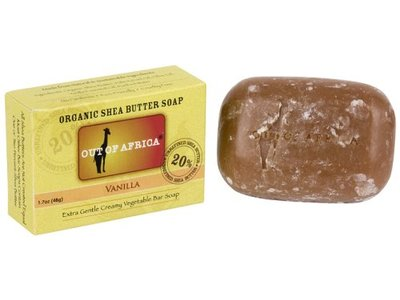 Out of Africa Vanilla Shea Butter Bar Soap, 4 oz