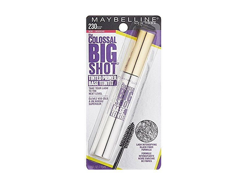 14689f4f49c Maybelline Volum Express The Colossal Big Shot Tinted Primer, 230 Black  (Pack of 2. Loading zoom