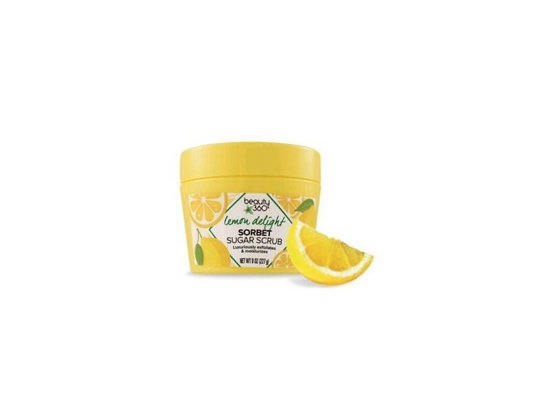 Beauty 360 Sorbet Sugar Scrub, Strawberry or Lemon