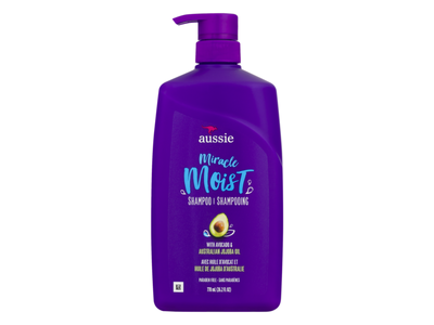 Aussie Miracle Moist Shampoo, 26.2 fl oz