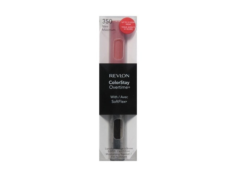 Revlon Colorstay Overtime Lipcolor, Bare Maximum, 0.07 Ounce