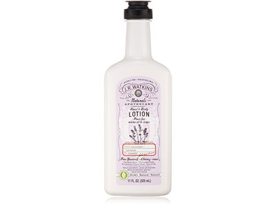 J.R. Watkins Natural Hand & Body Lotion, Lavender, 11-Ounce (Pack of 3)