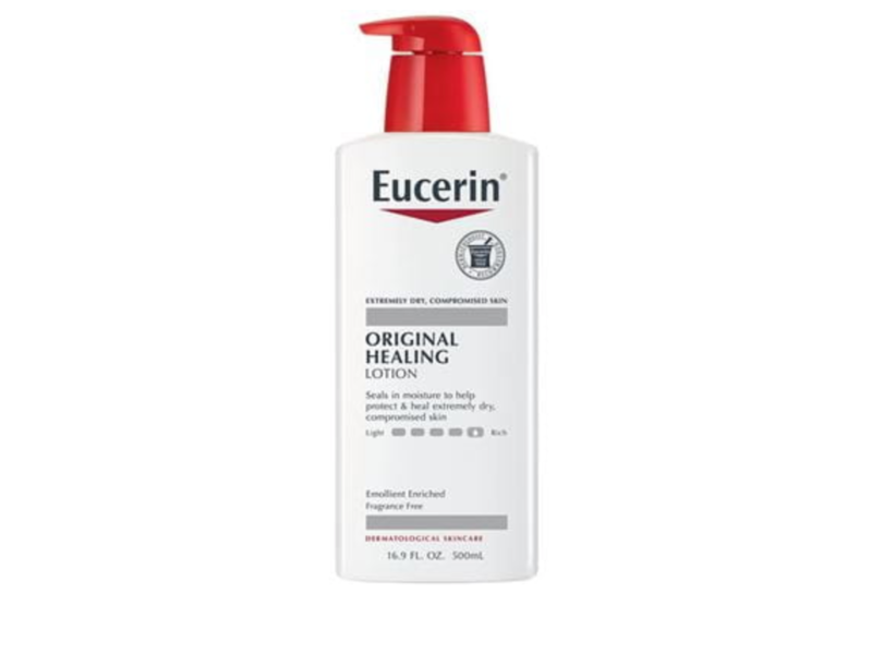 Eucerin Original Healing Soothing Repair Lotion, 16.9 fl oz/500 mL