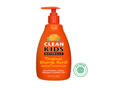 Clean Kids Naturally, Shampoo, Tropical Orange Burst, 16 fl oz