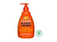 Clean Kids Naturally, Shampoo, Tropical Orange Burst, 16 fl oz - Image 2