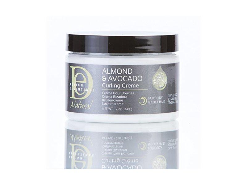 Design Essentials Almond & Avocado Curling Crème,12oz.