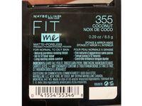 Maybelline Fit Me! Matte + Poreless Foundation Powder, 355 Coconut, 0.29 oz/8.5 g, Pack Of 2 - Image 4