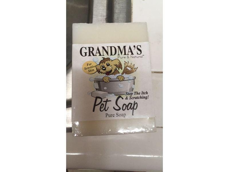 Grandma's Pure & Natural Pet Soap, 4 oz