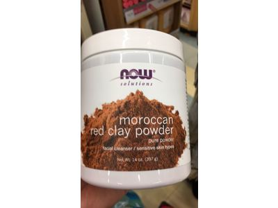 Now Solutions Moroccan Red Clay Powder, 14 oz - Image 4