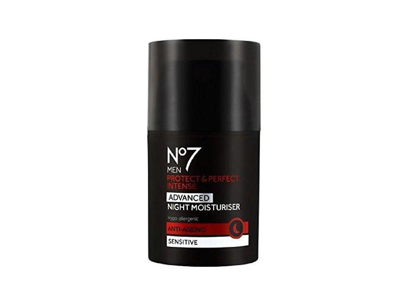 No7 Men Protect & Perfect Intense Advanced Night Moisturizer, 50 mL