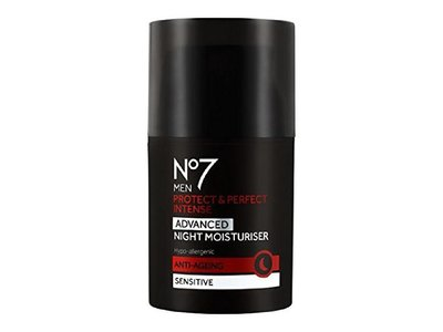 No7 Men Protect & Perfect Intense Advanced Night Moisturizer, 50 mL