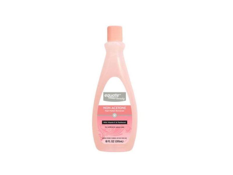 Equate Beauty Non-Acetone Nail Polish Remover, 10 fl oz