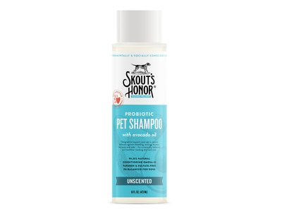 Skout's Honor Probiotic Pet Shampoo, Unscented, 16 fl oz