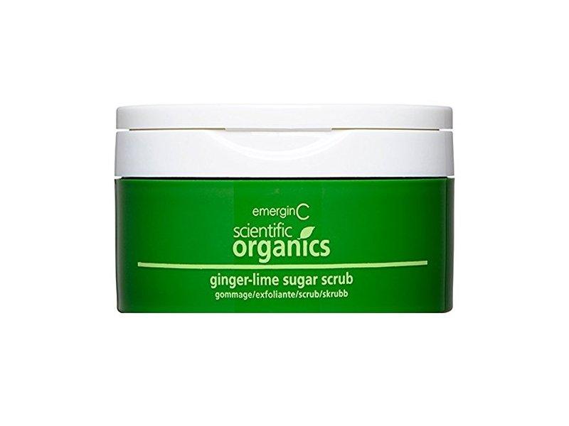 emerginC Scientific Organics - Ginger-Lime Sugar Scrub, 8oz