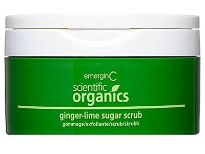emerginC Scientific Organics - Ginger-Lime Sugar Scrub, 8oz