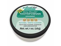 Primal Life Organics Dirty Mouth Organic Toothpowder, Spearmint, 1oz - Image 2