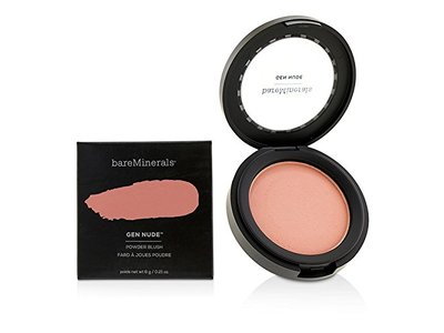 BareMinerals Gen Nude Powder Blush, Pretty In Pink, 0.21 oz - Image 1