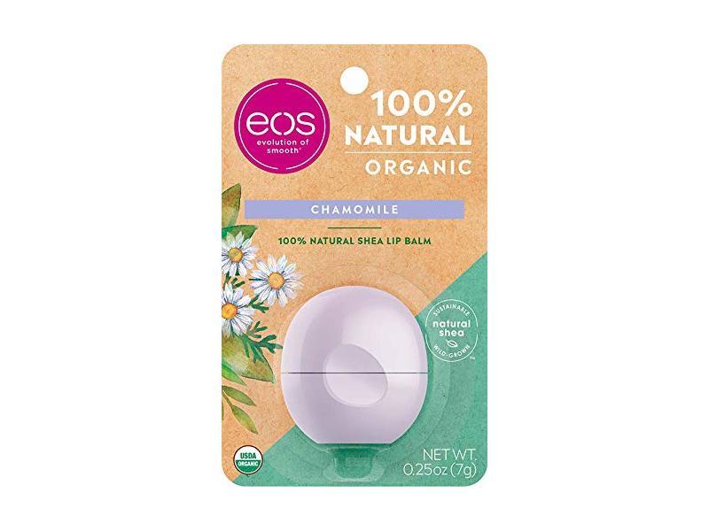 eos Natural & Organic Sphere Lip Balm, Chamomile, .25 oz