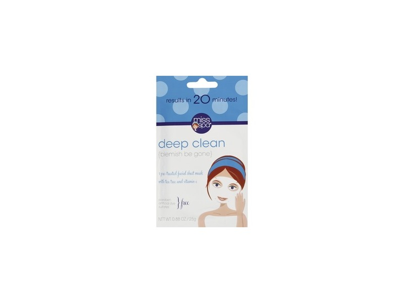 Miss Spa Deep Clean Facial Sheet Mask
