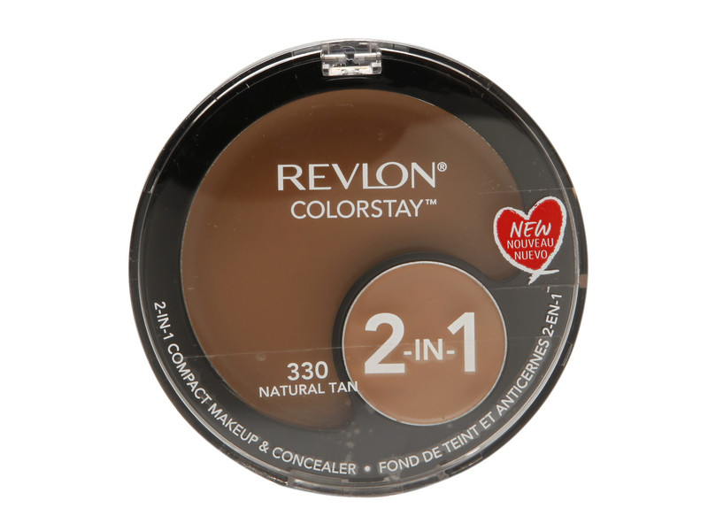 Revlon Colorstay 2 In 1 Compact Makeup Amp Concealer 330