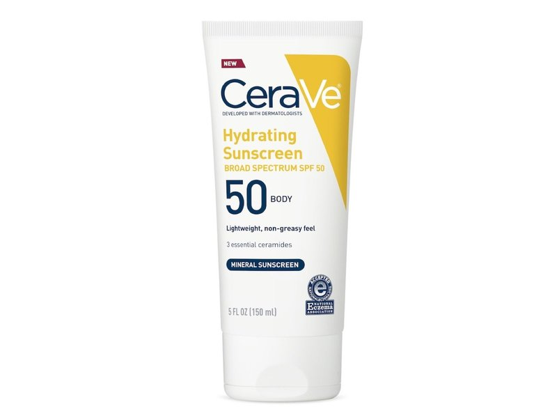 CeraVe SPF50 Hydrating Sunscreen Lotion