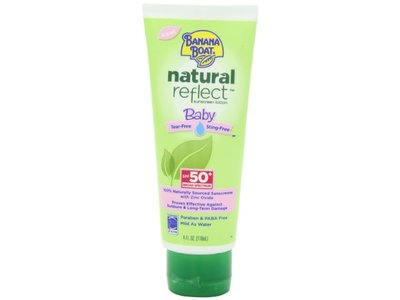 Banana Boat Natural Reflect Baby Sunscreen Lotion SPF 50, 4 Fluid Ounce - Image 5