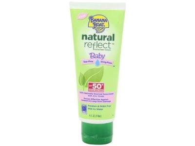 Banana Boat Natural Reflect Baby Sunscreen Lotion SPF 50, 4 fl oz - Image 5