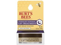 Burt's Bees 100% Natural Overnight Intensive Lip Treatment, Ultra-Conditioning Lip Care, 0.25 ounce - Image 2
