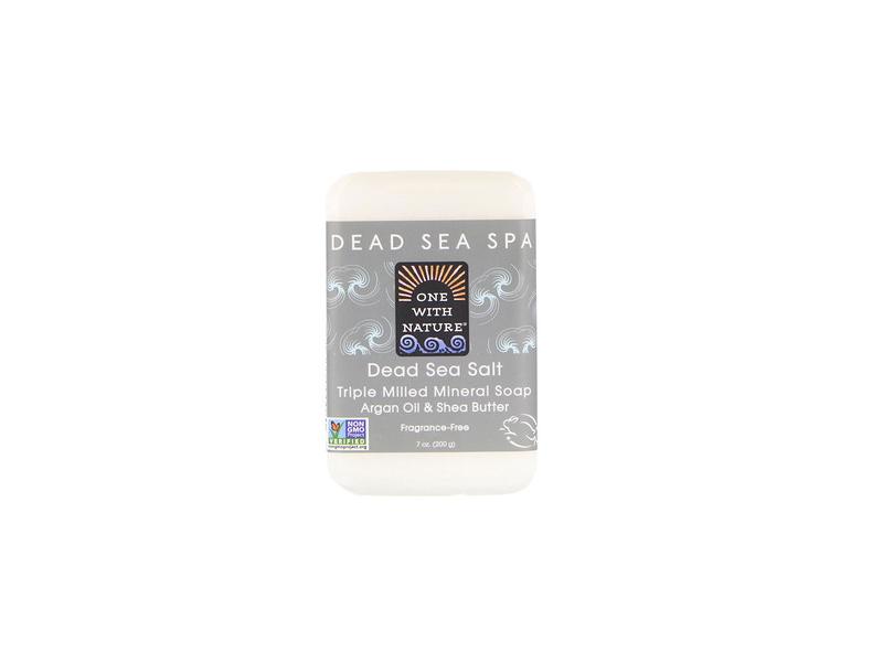 One With Nature Dead Sea Salt Bar Soap, 7 oz