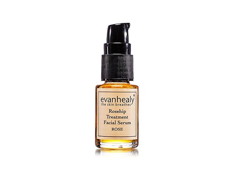 evanhealy Rosehip Treatment Facial Oil, Rose, 0.5 oz