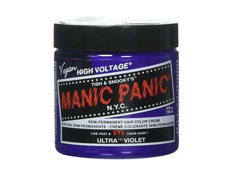 Manic Panic UV Formula Semi Permanent Hair Color Cream, 4 oz.