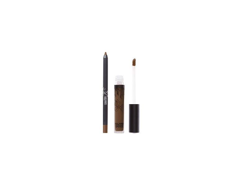 Kylie Lip Kit, True Brown K, 0.11/0.03 oz